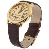 Vermeil Round Unisex Watch