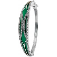 Green Enamel Bangle