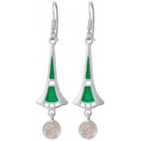 Mackintosh Style Earrings