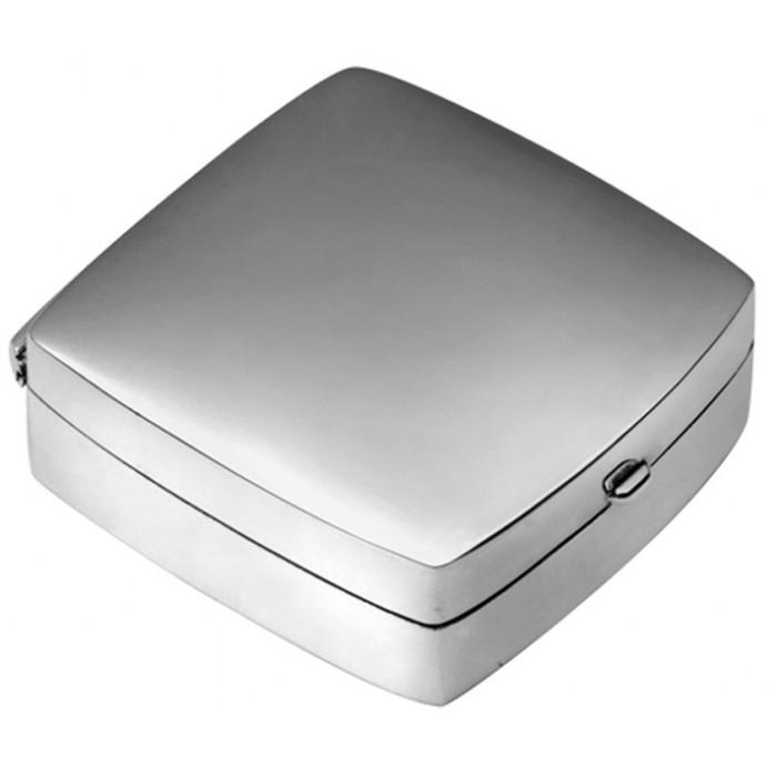 Medium Plain Square Hinged Pillbox