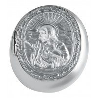 Embossed Rosary Bead Case