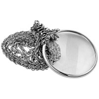 Floral Magnifying Glass Pendant
