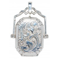 Engraved Silver Locket