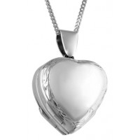 Heart Shaped Locket Pendant
