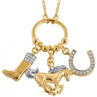 Charm Equestrian Necklace