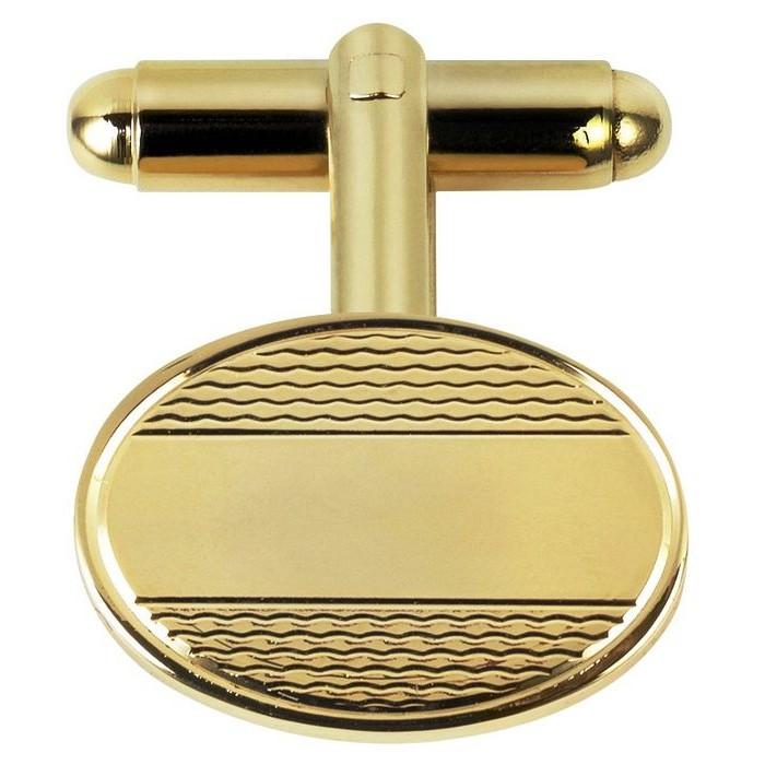 Gold Plated Chain Cufflinks