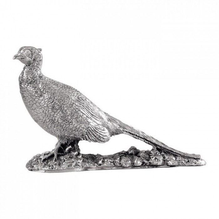 Sterling Silver Cock Pheasant