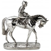 Sterling Silver Horse On Parade Large