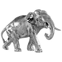 Sterling Silver Elephant With Trunk Down