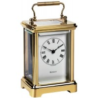 Gold Plated Henley Obis English Carriage Clock
