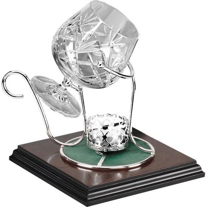 Silver Plated Single Brandy Warmer