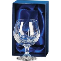 Lead Crystal Brandy Goblet