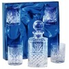 Lead Crystal Decanter Whisky Set