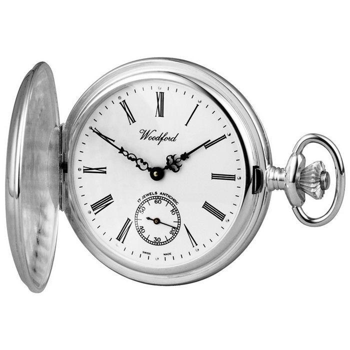 Sterling Silver Swiss Unitas Movement Pocket Watch