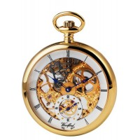 Gold Plated Pocket Watch With Full Size