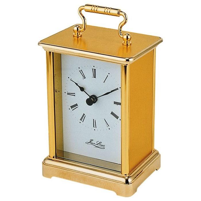 Gold Plated Carriage Clock Quartz