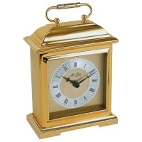 Gold Plated Carriage Clock
