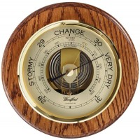 Solid Oak Barometer