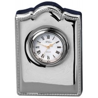 Sterling Silver Clock Bead Edge