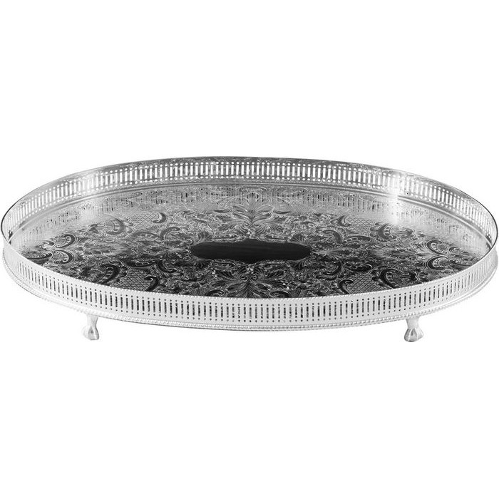 Silver Plated Gallery Tray 18 Inch