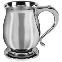 Sterling Silver Bellied Georgian Tankard
