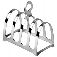 Sterling Silver Toast Rack 5 Bar