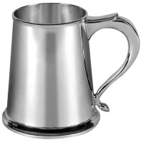 Sterling Silver Tankard Straight Sided 300 Gram