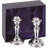 Sterling Silver Candlesticks Pair