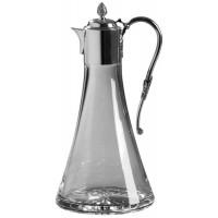 Sterling Silver Crystal And Silver Claret Jug