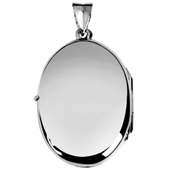Sterling Silver Locket No Chain