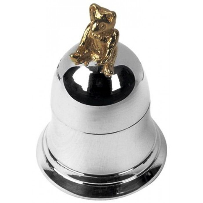 Sterling Silver Teddy Tooth Bell