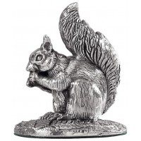 Sterling Silver Squirrel