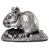 Sterling Silver Field Mouse