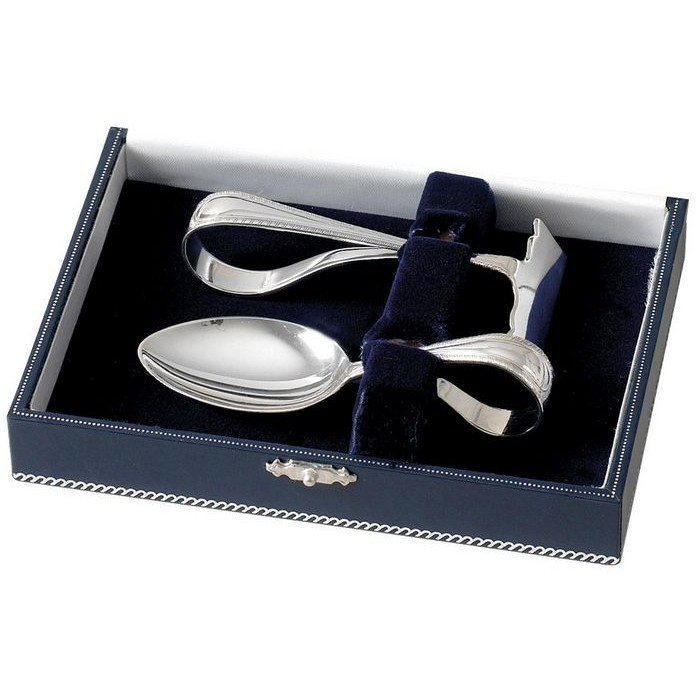 Spoon And Food Pusher Set