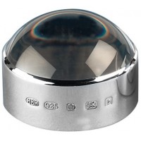 Sterling Silver Magnifier Paperweight