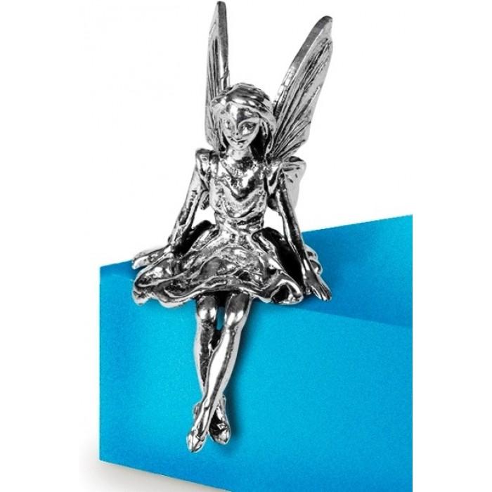Sterling Silver Shelf Fairy Statue