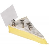 Sterling Silver Cheese Mice Models