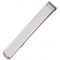 Sterling Silver Plain Tie Bar