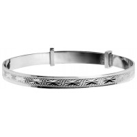 Sterling Silver Baby Bangle Expandable