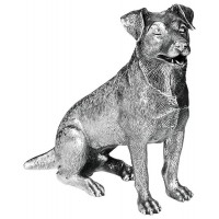 Sterling Silver Jack Russell Dog