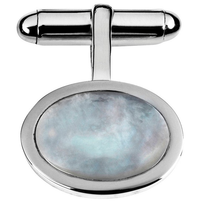 Sterling Silver Mother Of Pearl Set Cufflinks