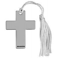 Sterling Silver Cross Bookmark
